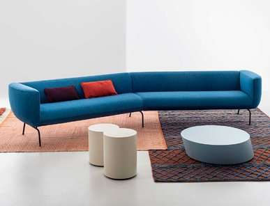 Итальянский модульный диван COUCHETTE фабрики LA CIVIDINA