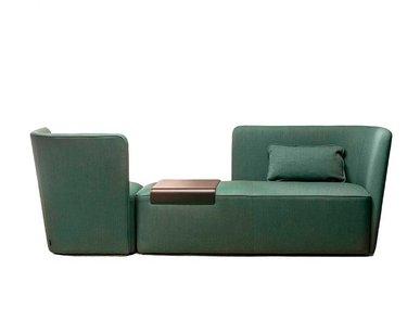 Итальянский модульный диван VELOUR фабрики LA CIVIDINA