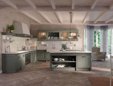 Итальянская кухня Positano British Moss фабрики LA CIVIDINA