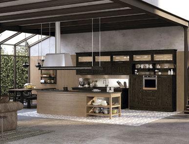 Итальянская кухня Positano Industrial фабрики LA CIVIDINA