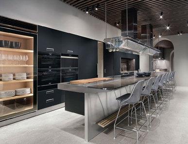 Итальянская кухня Lignum et lapis 03 фабрики ARCLINEA