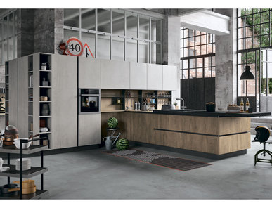 Итальянская кухня SP 22 06 фабрики ASTRA