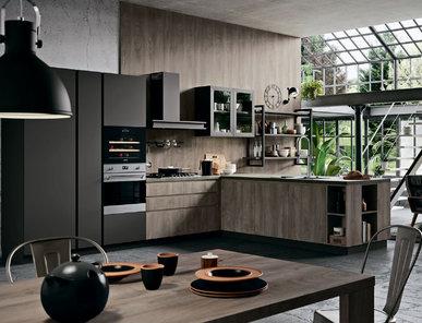 Итальянская кухня LINE 03 фабрики ASTRA