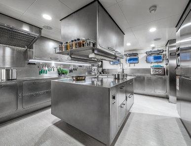 Итальянская кухня EGO 09 фабрики ABIMIS