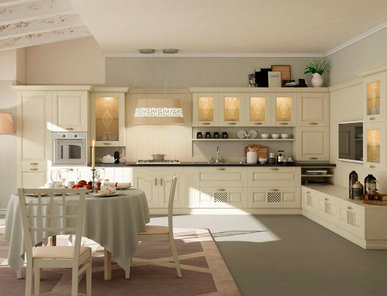 Итальянская кухня RAFFAELLA 02 фабрики AERRE CUCINE