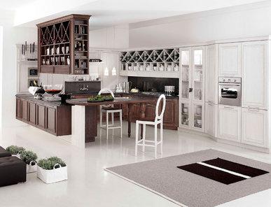Итальянская кухня SIBILLA 01 фабрики AERRE CUCINE