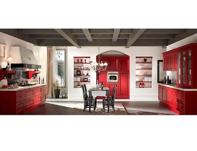 Итальянская кухня VITTORIA LACCATA 02 фабрики AERRE CUCINE