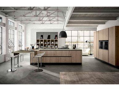 Итальянская кухня IKONA 01 фабрики AERRE CUCINE