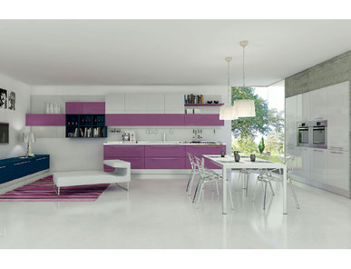 Итальянская кухня MULTIPLA 03 фабрики AERRE CUCINE