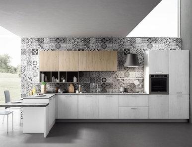Итальянская кухня PRATIKA 03 фабрики AERRE CUCINE