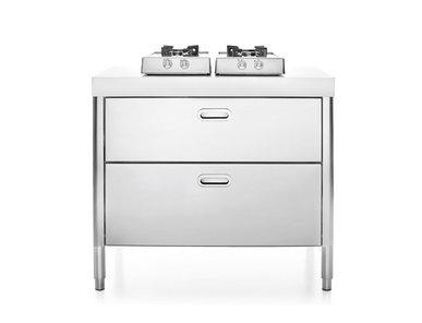 Итальянский кухонный гарнитур 100 фабрики ALPES INOX