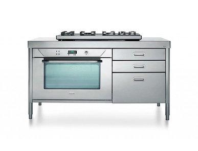 Итальянский кухонный гарнитур 160 01 фабрики ALPES INOX