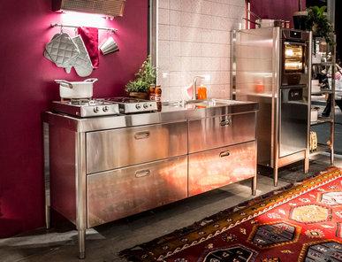 Итальянский кухонный гарнитур 190 Eurocucina фабрики ALPES INOX
