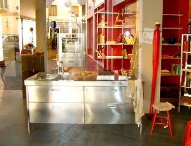 Итальянский кухонный гарнитур 190 Gatti Treviso фабрики ALPES INOX