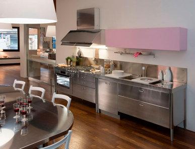 Итальянский кухонный гарнитур 190 Combined 04 фабрики ALPES INOX