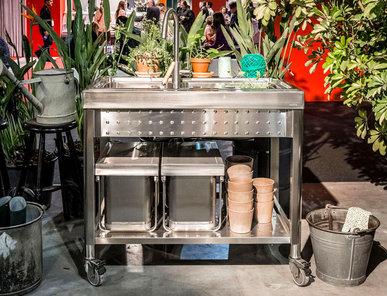 Итальянский кухонный гарнитур 100 Large Bowl фабрики ALPES INOX
