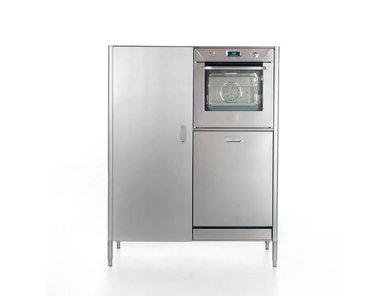 Итальянский холодильник, духовая плита и посудомойка 128 фабрики ALPES INOX