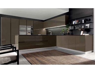 Итальянская кухня Mood Laccato Lucido 01 фабрики BVA
