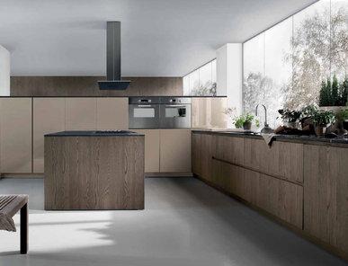 Итальянская кухня Mood Legno Rovere 01 фабрики BVA