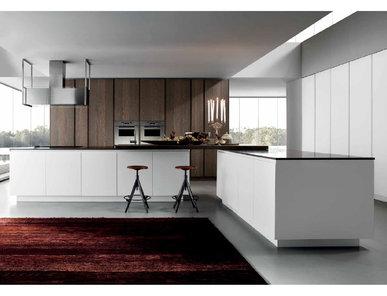 Итальянская кухня Mood Legno Rovere 02 фабрики BVA