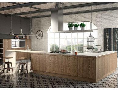Итальянская кухня CANOVA 04 фабрики BERLONI