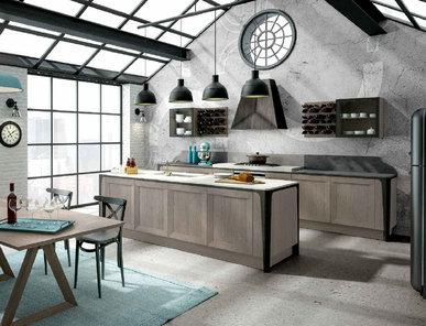 Итальянская кухня MILANO 03 фабрики BERLONI