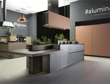 Итальянская кухня ALUMINA фабрики COMPREX