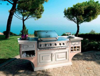 Итальянская кухня EXEDRA OUTDOOR фабрики D'ANGELI