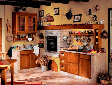 Итальянская кухня NONNA PIERINA CILIEGIO фабрики DIEGI