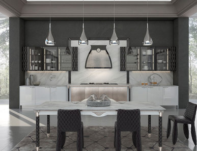 Итальянская кухня LUMIERE 03 фабрики ENNE GROUP