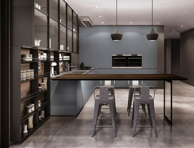 Итальянская кухня ANTIS 01 фабрики EUROMOBIL