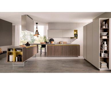 Итальянская кухня LAIN 03 фабрики EUROMOBIL