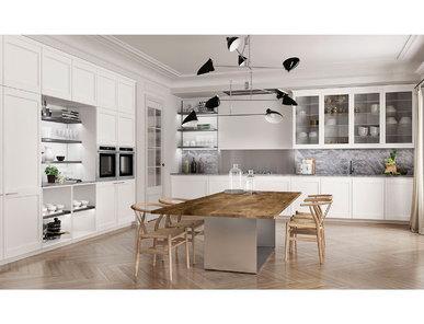 Итальянская кухня FILÒ 01 фабрики EUROMOBIL