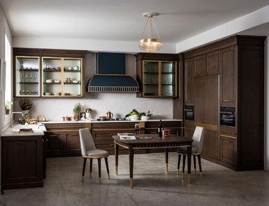 Итальянская кухня GINEPRO фабрики LAGO MOBILI