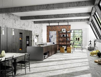 Итальянская кухня AMBRA ATELIER фабрики LINEAQUATTRO