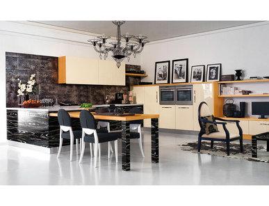Итальянская кухня Yacht Line 01 фабрики MOD'Art Cucine