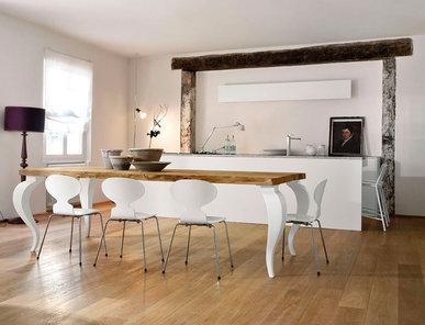 Итальянская кухня Vecchi travi in legno circondano фабрики MOD'Art Cucine