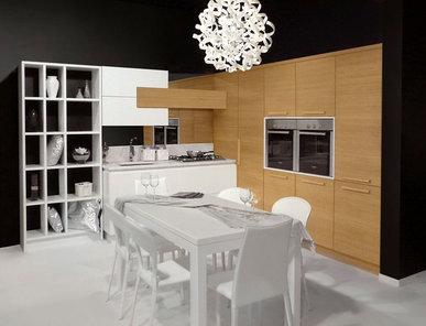 Итальянская кухня Castagno 01 фабрики MOD'Art Cucine