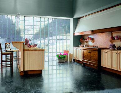 Итальянская кухня SAUTERNE SFUMATURE ROSSE фабрики MARCHETTI MAISON