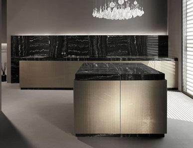 Итальянская кухня Seta Venus Gold фабрики MINOTTI CUCINE