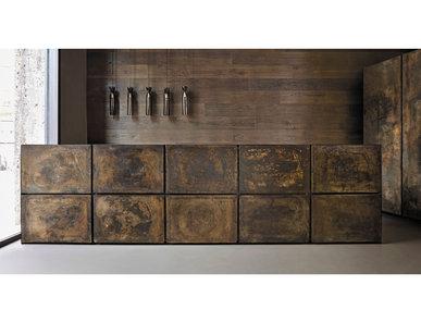 Итальянская кухня Poured Cast Bronze фабрики MINOTTI CUCINE