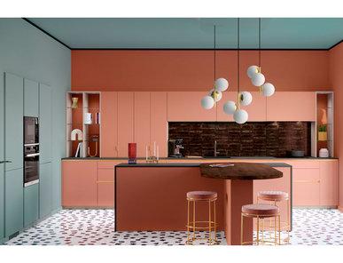 Итальянская кухня Kiffa Imagine фабрики MOBALPA