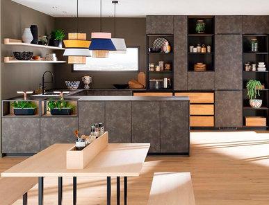 Итальянская кухня Luxe Line Re-energise фабрики MOBALPA
