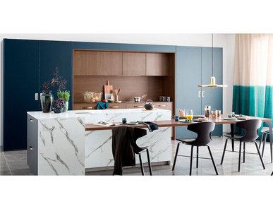 Итальянская кухня Kiffa Contemporary фабрики MOBALPA