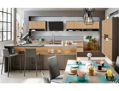 Итальянская кухня Delice Loft фабрики MOBALPA