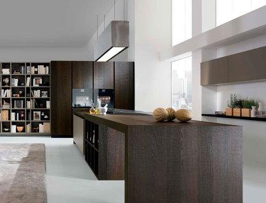 Итальянская кухня Royale Tranche Heat-treated Oak Lacquered фабрики RASTELLI