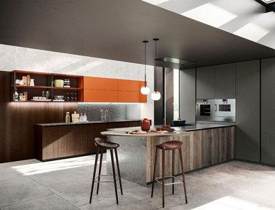 Итальянская кухня MAESTRALE M07 фабрики SCANDOLA MOBILI