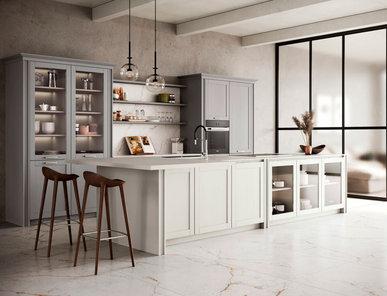 Итальянская кухня MAESTRALE M08 фабрики SCANDOLA MOBILI