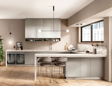 Итальянская кухня BoxLife 10 фабрики SCAVOLINI