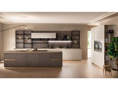 Итальянская кухня DeLinea 01 фабрики SCAVOLINI